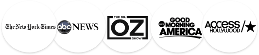 The New York Times - abc NEWS - The Dr. OZ Show - Good Morning America - Access Hollywood